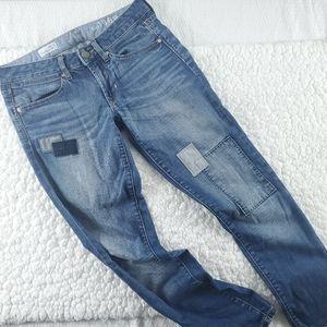 Gap Always Skinny Patchwork Jeans 26/2 27L